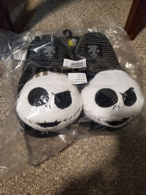 disney nightmare before christmas slippers for Sale in Apple Valley, CA