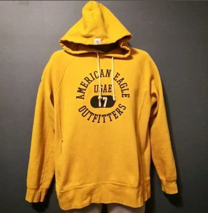 American Eagle Outfitters USAE, Mens Yellow Pullover Hoodie, Size Medium for Sale in Douglasville, GA