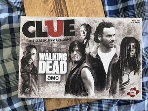 Clue: the wAlking dead board game for Sale in Washington, DC