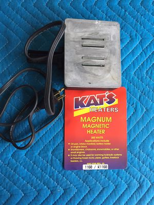 Kat's Magnum Magnetic Engine Heater for Sale in Dearborn Heights, MI
