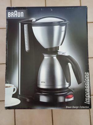 Braun Design Impressions Coffee Maker for Sale in Melrose, MA