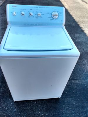 Kenmore elite heavy duty top load washer works good large-capacity 90 day warranty free delivery {contact info removed} for Sale in Washington, DC