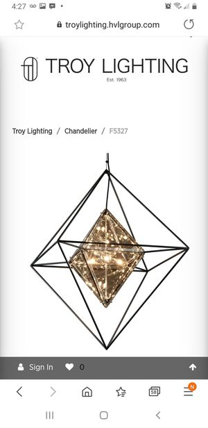 Troy lighting Chandelier for Sale in Aurora, CO