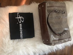 Gently used B. Makowsky handbag for Sale in Erie, PA