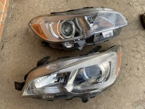 2015-2017 Subaru WRX OEM Chrome Projector Front Headlights Headlamps Head Lights for Sale in Arlington Heights, IL