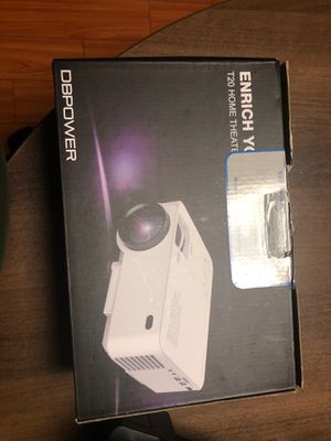 DBPOWER projector for Sale in Los Angeles, CA