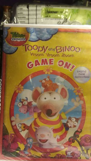 Toopy and Binoo Vroom Vroom Vroom Game On DVD Sealed for Sale in Bakersfield, CA