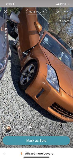 2006 Nissan 350z for Sale in Manassas Park, VA