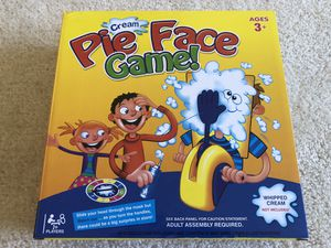 Pie Face Kids Game for Sale in Raleigh, NC