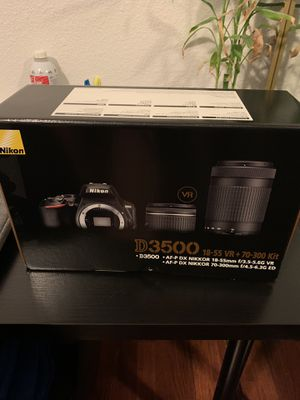 Nikon D3500 Camera for Sale in Spring Valley, CA