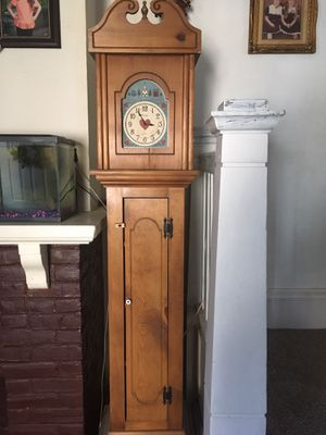 Antique clock, with inside shelves for Sale in Lansdowne, PA
