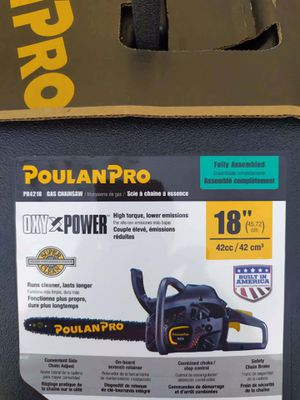 Poulanpro chainsaw for Sale in Port Richey, FL