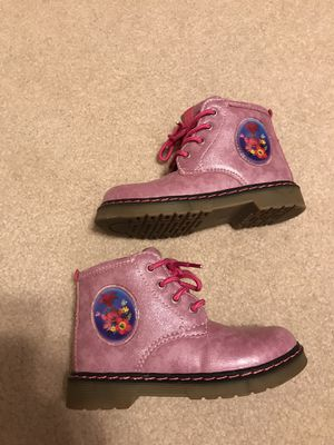 Trolls boots size 26eu (8/9us) toddler for Sale in Roselle, IL