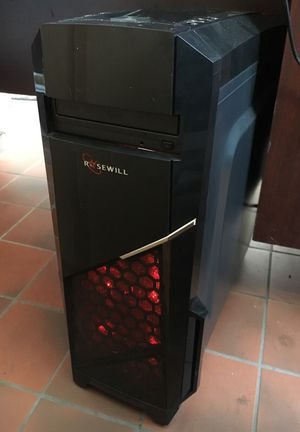 Brand New Gaming Computer with Mouse and Backlit Keyboard for Sale in Dearborn, MI