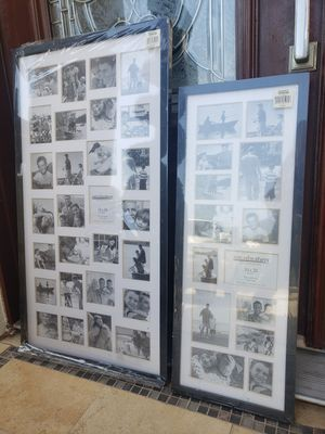 PAIR = 2 Large Collage Picture Photo Frames for Sale in Monterey Park, CA