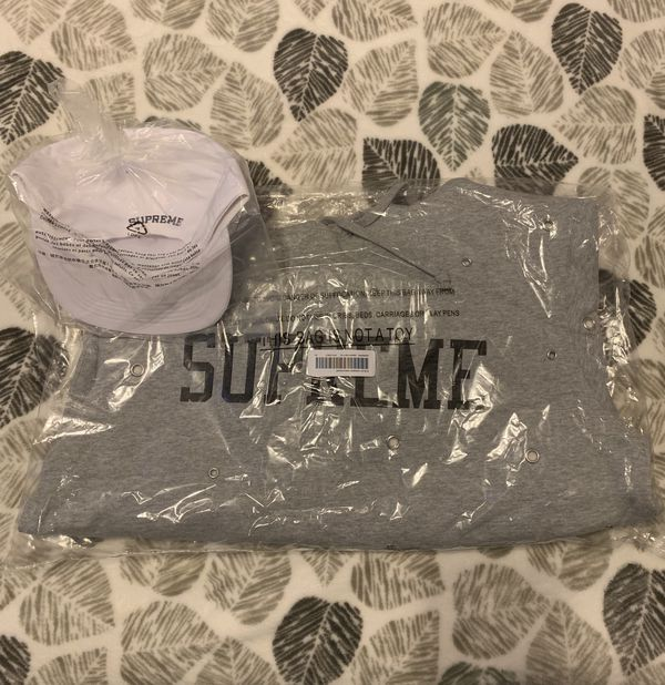 Supreme Hat & Supreme Sweatshirt