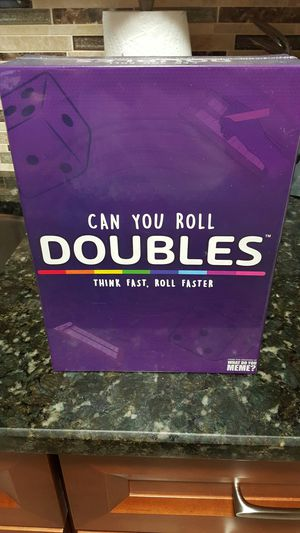 Can You Roll Doubles Board Game for Sale in Boston, MA