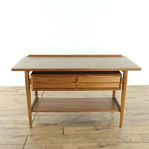 Arne Vodder for Sibast Møbler, console table, teak, Denmark, 1960s (1019585) for Sale in South San Francisco, CA
