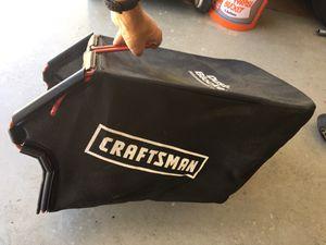 Grass catcher bag for craftsman mower for Sale in Jacksonville, FL