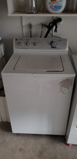 Good dryer & washer - can sell individually too for Sale in Arcadia, CA