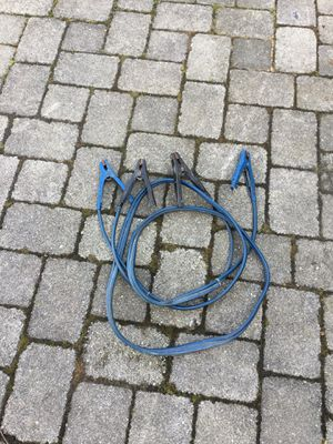 Jumper cables heavy for Sale in Concord, MA