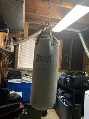 Everlast boxing equipment for Sale in Florissant, MO