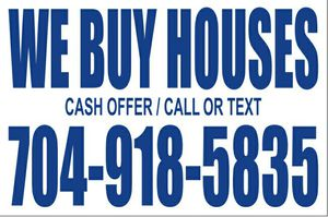 Houses- Cash offer ! AS IS ! Charlotte /Cabarrus for Sale in Charlotte, NC