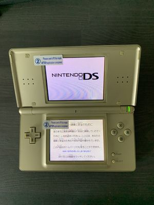 Nintendo DS lite gold + LEGO game for Sale in Katy, TX