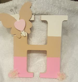 Custom made wooden letters, Price varies $5 to $7 for Sale in Miami, FL