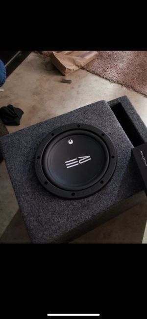 Re 8 inch subwoofer new for Sale in San Francisco, CA
