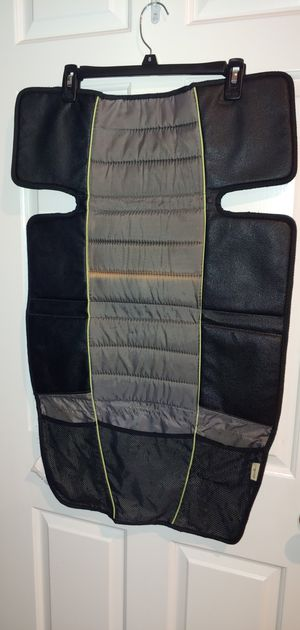 Eddie Bauer Universal High Back Car Seat Protector, Black & Grey for Sale in New York, NY