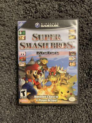 Super Smash Bros. Melee Nintendo GameCube (Unreadable disc) for Sale in Fullerton, CA