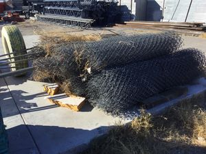 5 rolls of used chain link fencing. $40.00 each OBO. Pick up only. for Sale in Las Vegas, NV