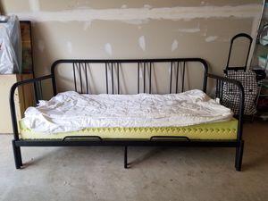 Metal frame futon for Sale in Rockville, MD