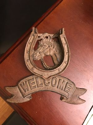 Horse door knocker for Sale in Brookfield, IL