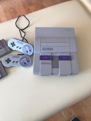 Original Super Nintendo for Sale in Lancaster, MA