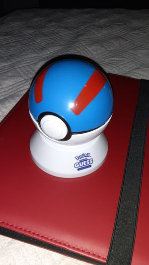 Pokemon's guess ball for Sale in Fort Worth, TX