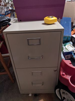 Two drawer file cabinet for Sale in Channahon, IL