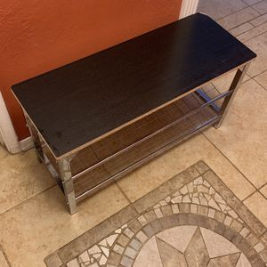 2 Tier Shoe Bench for Sale in Tucson, AZ
