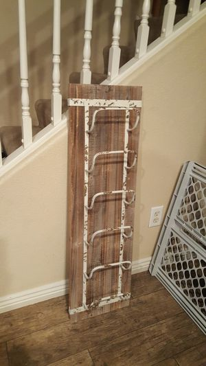 Rustic Wooden Wine Rack....home decor for Sale in Tolleson, AZ