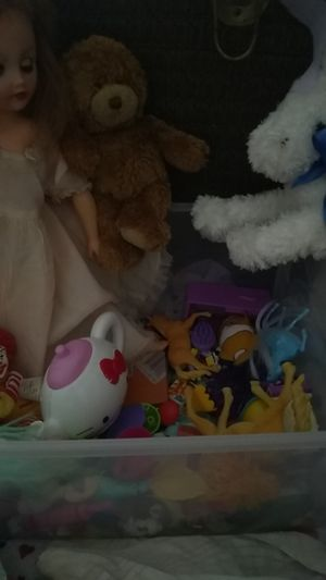 Small bucket of toys for Sale in Lincoln, NE