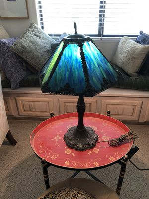 Antique Stained Glass Lamp for Sale in Tempe, AZ