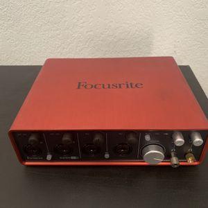 Scarlett Focusrite 18i8 2nd gen for Sale in Long Beach, CA