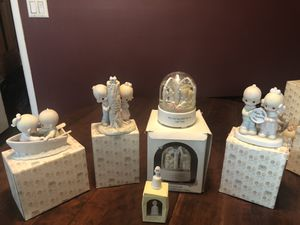 Precious moment pieces some up to 35 years old. Pieces range in price $15 and up for Sale in South Brunswick Township, NJ