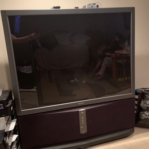 "Sony 60"" Rear Projection TV-FREE for Sale in Culver City, CA"