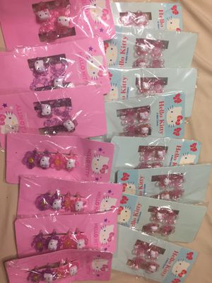 Hello Kitty Hair clip Bow Bundle 19 packs for Sale in Sanctuary, TX