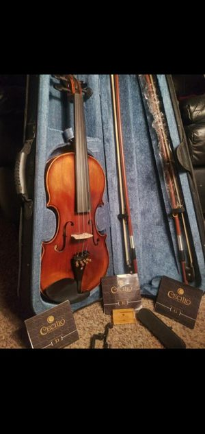 Authentic Wooden Violin W/ 2 Bows & Extra Strings for Sale in Nashville, TN