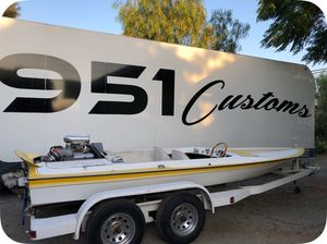 Galxie boat hull and trailer for Sale in Ontario, CA