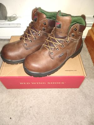 Red wing ' king toe ' work boots. 10.5 + timberland pro insoles anti fatigue 10.5 for Sale in Bensalem, PA