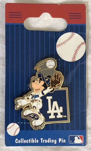 LA dodgers mickey mouse mlb disney pin - NEW for Sale in Tustin, CA